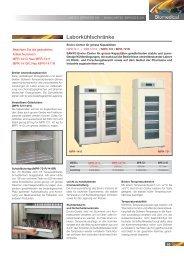 K Katalog Laborkühlschrank, 0.7 MB - Labtec Services AG