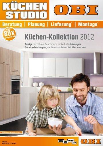 Küchen-Kollektion 2012 - OBI Baumarkt Franken