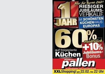 jubilaums knaller wohnwelt pallen with wohnwelt pallen keukens. Black Bedroom Furniture Sets. Home Design Ideas