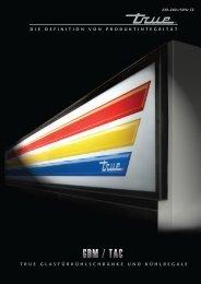 true glastürkühlschränke und kühlregale - True Manufacturing