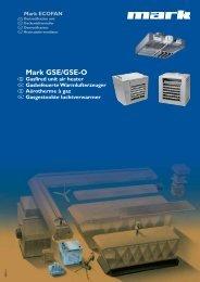 Mark GSE/GSE-O - MARK Deutschland GmbH