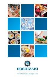 HOSHIZAKI Produktkatalog 2012 V2