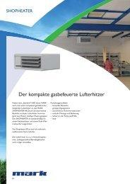 Prospekt Shopheater - MARK Deutschland GmbH
