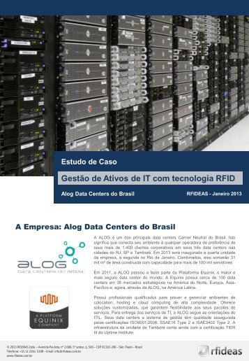 RFIDEAS+-+Business+Case+Alog+Datacenters+-+Jan13+-+PT
