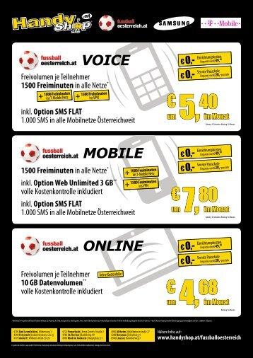20120427 Fussball Österreich Tarif Flyer.indd - Handyshop