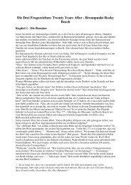 Die Drei Fragezeichen: Twenty Years After - Brennpunkt Rocky Beach