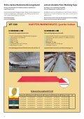 Weitere Informationen finden Sie in dem Bodenmarkierungsbänder ... - Seite 4