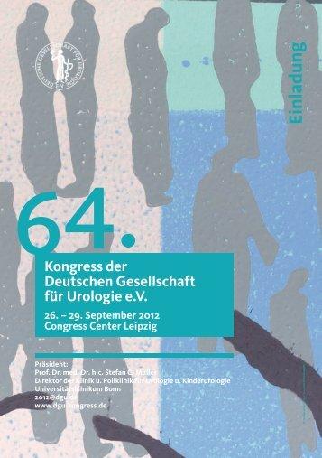 Kongress der Deutschen Gesellschaft für Urologie eV