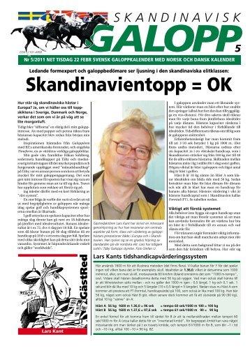 Skandinavientopp = OK - Øvrevoll Galoppbane
