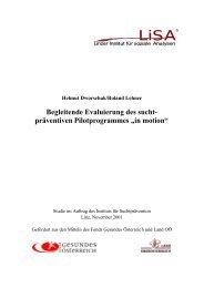 LISA-Studie in motion gesamt - Institut Suchtprävention