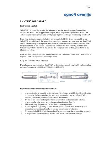 how to use lantus solostar insulin pen video