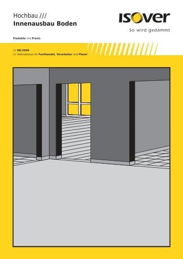 Katalog Innenausbau Boden - Cassens