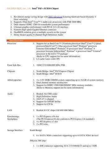 Gigabyte GA-EG45M-DS2H Intel ICH9R/ICH10R Linux