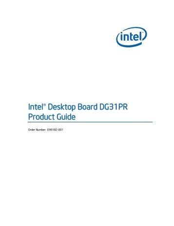 Intel dp965lt audio
