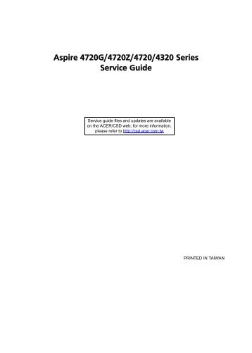aspire x1700 service guide online user manual u2022 rh gooduserguide today aspire series generic user guide Tight Lines Guide Service