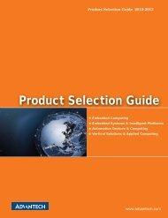 Product Selection Guide - Advantech