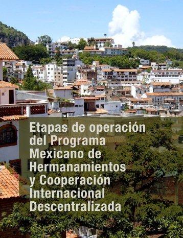 Etapas de Operación del Programa - Secretaría de Relaciones ...