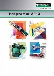 STAHLWILLE Katalog 2013