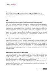 Projektbeschreibung - Isabel Baumberger
