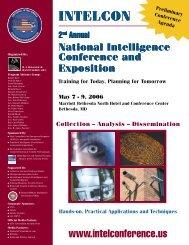 INTELCON INTELCON - Higgins Counterterrorism Research Center