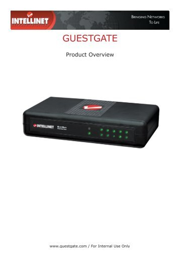 GuestGate pdf - Sewell Direct