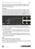 Intellinet Fast Ethernet Rackmount PoE Switch User Manual ... - Use-IP - Page 2