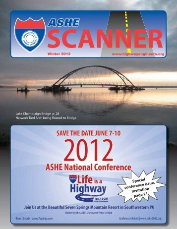 Spring 2012 - American Society of Highway Engineers