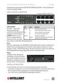 Intellinet 16-Port Fast Ethernet Rackmount PoE Switch ... - Use-IP - Page 3