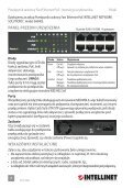 Intellinet 16-Port Fast Ethernet Rackmount PoE Switch ... - Use-IP - Page 6