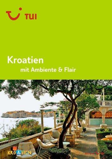 TUI - Kroatien mit Ambiente & Flair - Sommer 2011 - Giata