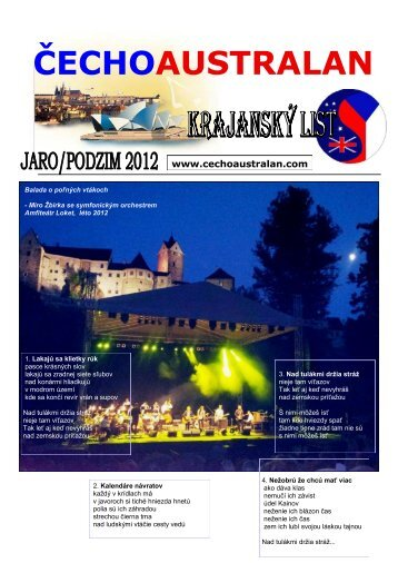 jaro/podzim 2012 - Čechoaustralan