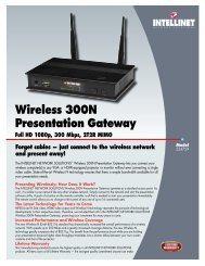 INTELLINET Wireless 300N Presentation Gateway