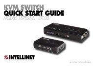 KVM SWITCH QUICK START GUIDE