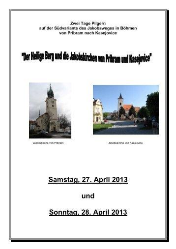 Der Heilige Berg und die  Jakobskirchen von Pribram