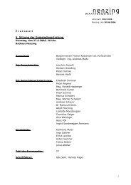 Protokoll 5. GV-Sitzung 2006 - Marktgemeinde Nenzing