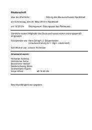 Protokolldownload (pdf) - Markt Nandlstadt