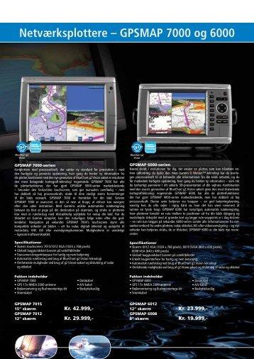 Netværksplottere – GPSMAP 7000 og 6000 - BM Marine Service A/S