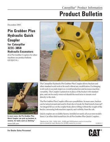GEJQ0003-11 - Pin-Grabber Plus Hydraulic Quick Coupler for HEX ...