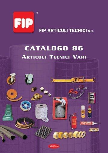 CATALOGO ARTICOLI TECNICI VARI - FIP Articoli Tecnici