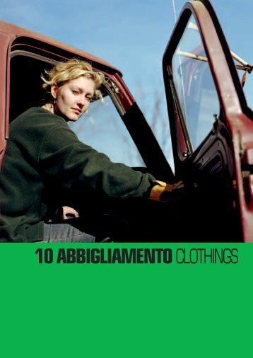 10 ABBIGLIAMENTO CLOTHINGS - Barilli
