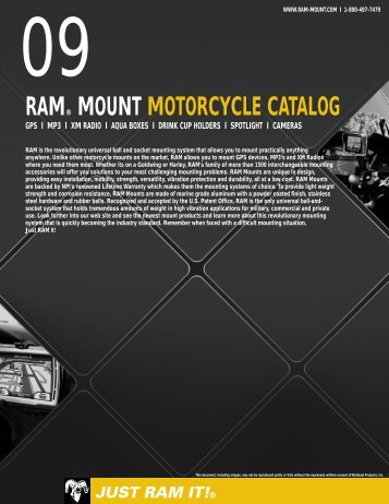 RAM® MOUNT MOTORCYCLE CATALOG - RAM Mounts