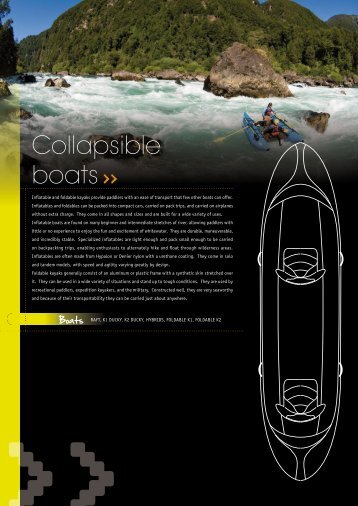 Collapsible boats - Kayak Session
