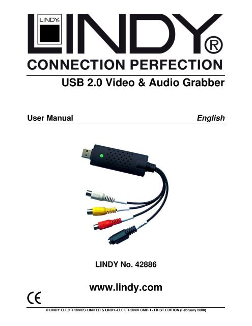 EASYCAP003 USB2.0 VIDEO GRABBER DRIVER (2019)