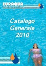 Euraqua S.r.l. Catalogo Generale 2010 - Sport Industry Directory