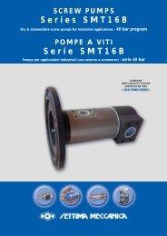 POMPE A VITI Serie SMT16B