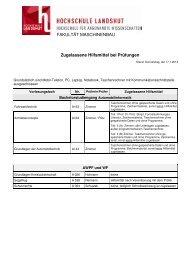 Hilfsmittelliste WS 2012/13