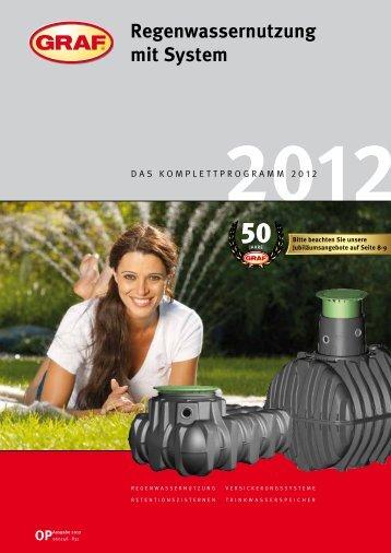 Graf Regenwasser-Katalog 2012