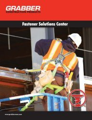 Fastener Solutions Center - Grabber Construction Products