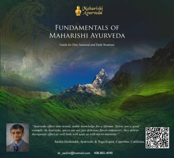 Fundamentals of Maharishi Ayurveda