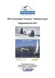 Tätigkeitsbericht 2004 - Traunsee - Salzkammergut